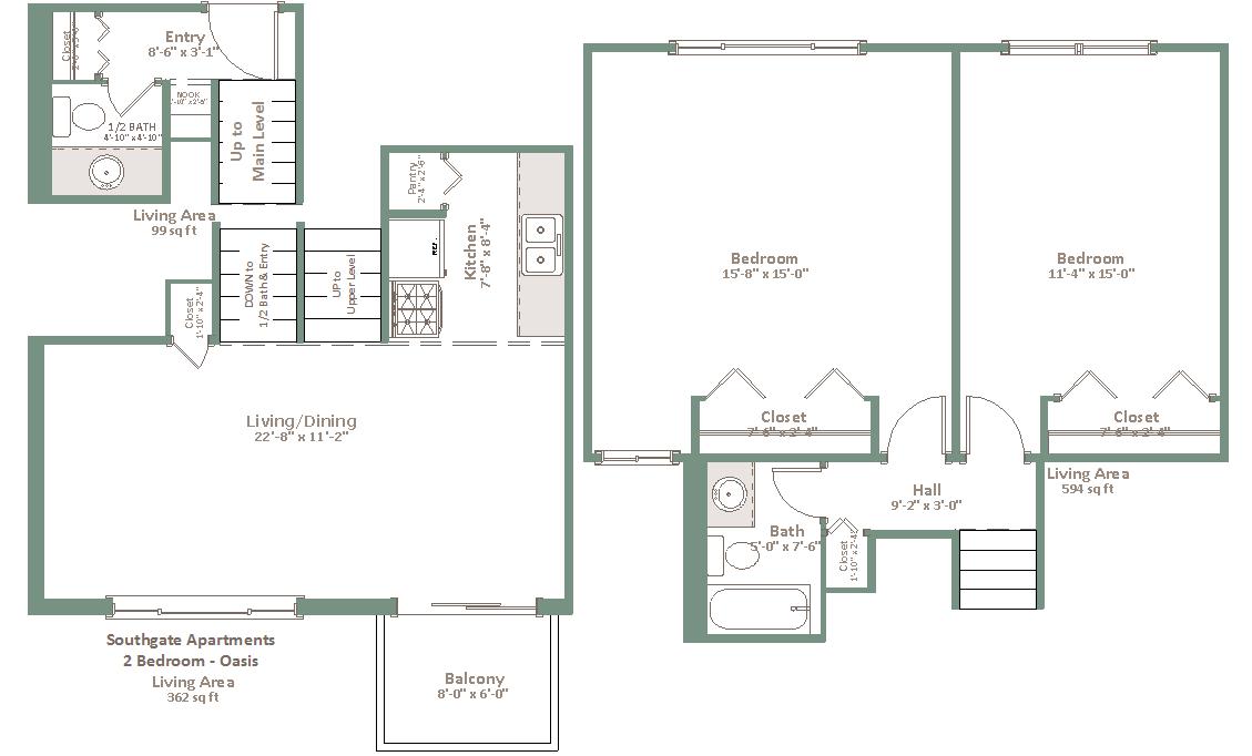 Southgate Loomis Hills Apartments
